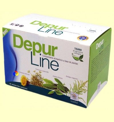 Depurline Tisana Biológica - Noefar - 20 infusiones *