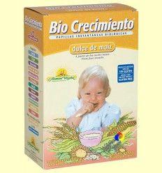 Papilla de Maíz Bio - Bio Crecimiento - 400 gramos