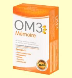 OM3 Memoria - Super Diet - 15 perlas + 15 cápsulas