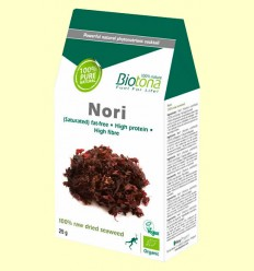 Algas Nori Bio - Biotona - 25 gramos
