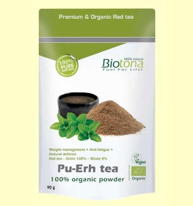 Pu-Erh Tea Bio - Biotona - 90 gramos