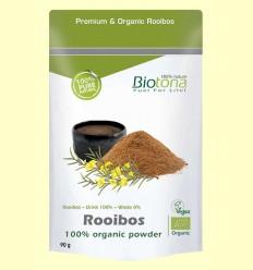 Rooibos Tea Bio - Biotona - 90 gramos