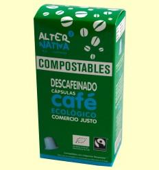 Café descafeinado BIO FT compostable - Alternativa3 - 10 cápsulas