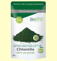Chlorella en Polvo Bio - Biotona - 200 gramos