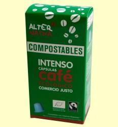 Café intenso BIO FT compostable - Alternativa3 - 10 cápsulas