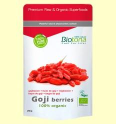 Bayas de Goji Bio - Biotona - 250 gramos