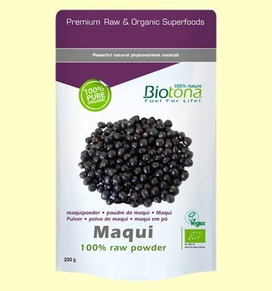 Maqui en Polvo Bio - Biotona - 200 gramos