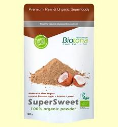 Supersweet Bio - Azúcar de Coco - Biotona - 300 gramos