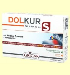 Dolkur - Dolores varios - Gricar - 30 cápsulas