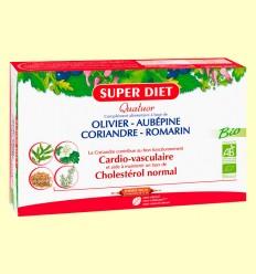 Cuarteto Cardio Bio - Sistema Cardiovascular - Super Diet - 20 ampollas