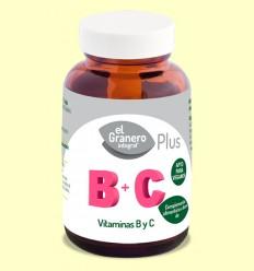 Vitagran B+C - Vitaminas B y C - El Granero - 90 cápsulas