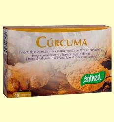 Cúrcuma - Santiveri - 48 comprimidos