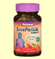 Blood Pressure Support - Presión Arterial - Bluebonnet - 60 cápsulas