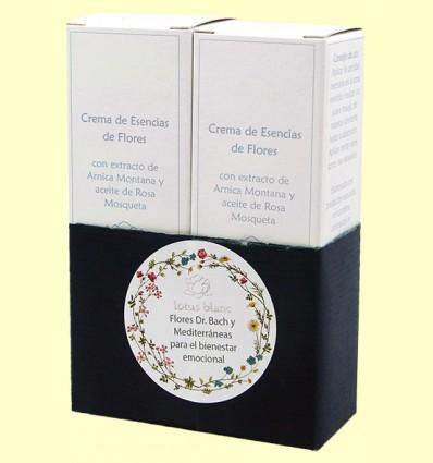Crema Esencia de Flores - Lotus Blanc - Pack 2x50 ml