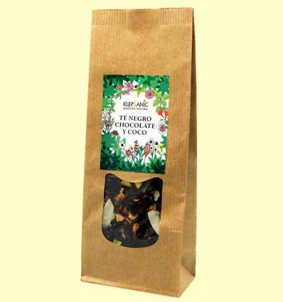 Té Negro - Chocolate y Coco - Klepsanic - 80 gramos