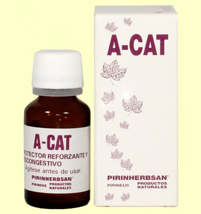 A-Cat - Protector Reforzante Descongestivo - Pirinherbsan - 15 ml