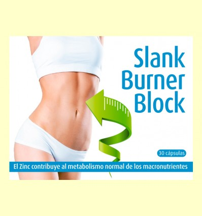 Slank Burner Block - Espadiet - 30 cápsulas