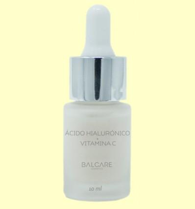 Ácido Hialurónico Ecológico Puro y Vitamina C - Balcare - 10 ml
