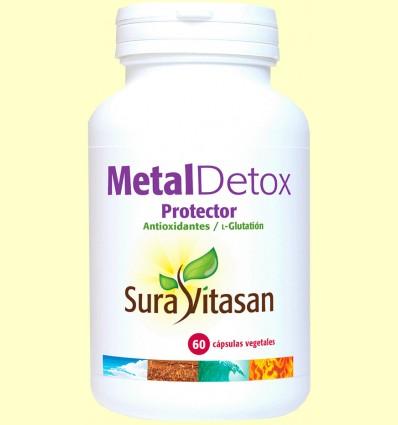 Metal Detox Protector - Sura Vitasan - 60 cápsulas *