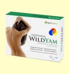 Wild Yam Ñame Silvestre y Vitamina B6 - Bienestar para la mujer - VenPharma - 80 cápsulas