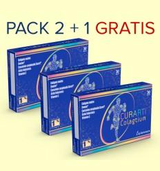 Curarti Colagtium - Plameca - Pack 2+1 GRATIS - 90 cápsulas
