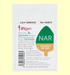NAR - Ácido Ribonucleico - Ifigen - 3 gramos