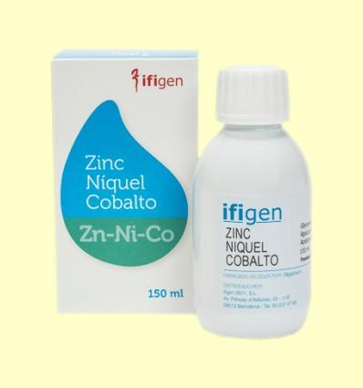 Oligoelementos Zinc-Níquel-Cobalto - Ifigen - 150 ml