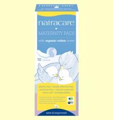 Compresas Maternity Bio - Post Parto - Natracare - 10 unidades