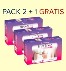 Triptófano Forte - Plameca - Pack 2+1 GRATIS - 90 comprimidos