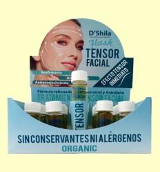 Flash Tensor Facial Bio con Colágeno y Elastina - D'Shila - 20 x 10 ml