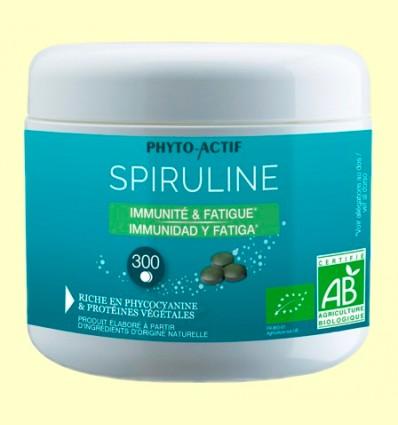 Spirulina Bio - Antifatiga - Phyto Actif - 300 comprimidos