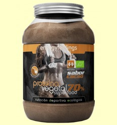 Proteína Vegetal Cacao Bio 70% - Energy Feelings - 1500 gramos *