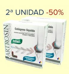 Artrosin - Colágeno líquido - Santiveri - 2ª unidad 50% dto - 32 viales
