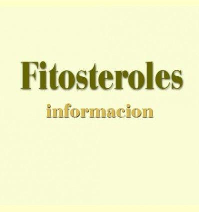 Información sobre: Fitosteroles - Equilibrio lipídico - Artículo Informativo