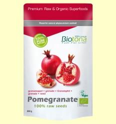 Granada Semillas Raw Bio - Biotona - 200 gramos