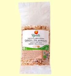 Tortitas de Arroz Integral Quinoa y Sal del Himalaya - Vegetalia - 110 gramos
