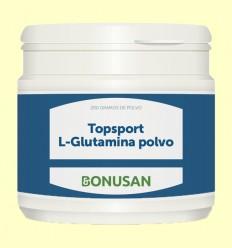 Topsport L-Glutamina Polvo - Bonusan - 200 gramos