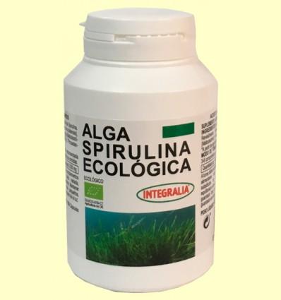 Alga Spirulina Ecológica - Integralia - 100 cápsulas