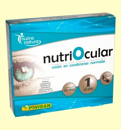 Nutriocular - Pinisan Laboratorios - 30 cápsulas