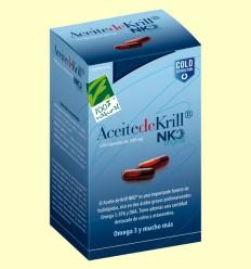 Aceite de Krill NKO - 100% Natural - 120 cápsulas vegetales