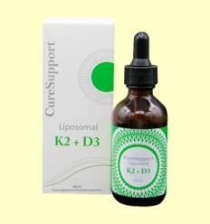 Liposomal K2 +D3 - Curesupport - 60 ml