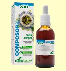 Composor 28 - Nerval Complex - Fórmula XXI - Soria Natural - 50 ml