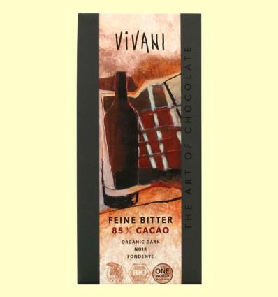 Chocolate Negro 85% Cacao Eco - Vivani - 100 gramos