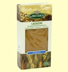 Pasta Lasaña Integral Bio - La Bio Idea - 250 gramos