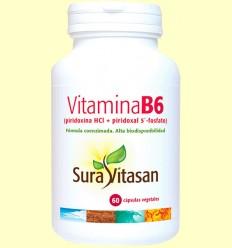 Vitamina B6 - Sura Vitasan - 60 cápsulas