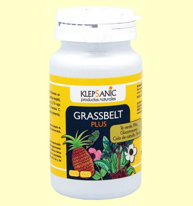 Grassbelt Plus - Cuida tu línea - Klepsanic - 60 cápsulas