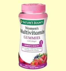 Multivitamínico mujer gummies - Nature's Bounty - 60 cápsulas *