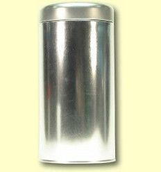 Lata redonda para guardar el Té con tapa de media rosca