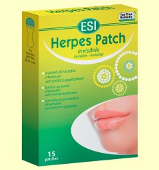Herpes Patch - Parches Transparentes - Laboratorios Esi - 15 parches