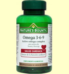 Omega 3-6-9 Active Omega Complex - Nature's Bounty - 60 cápsulas